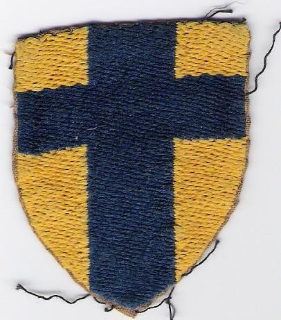 'BAoR' unit patch for soldiers stationed in Hamburg & Low Countries