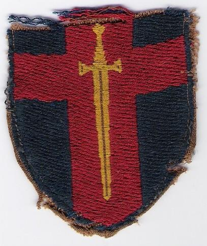 'BAoR' unit patch for soldiers in the 'Rhine Army'