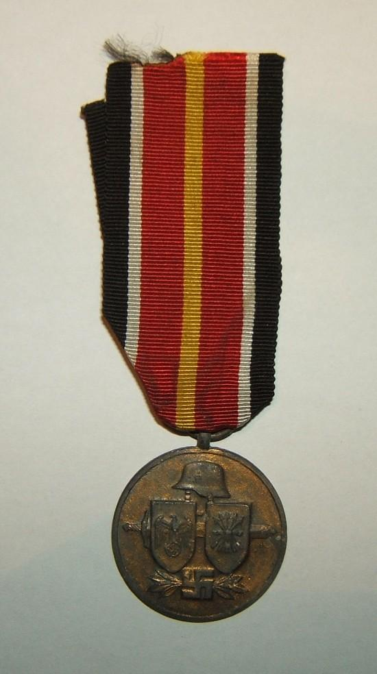 German Spanish Volunteer Division 'Bravery & Commemorative Medal', c. 1944-45