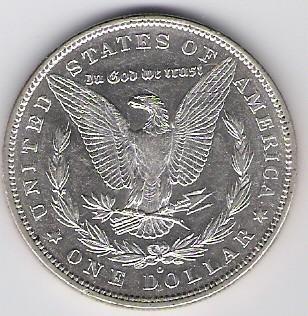 US: Morgan Dollar, 1880 O, FU-58
