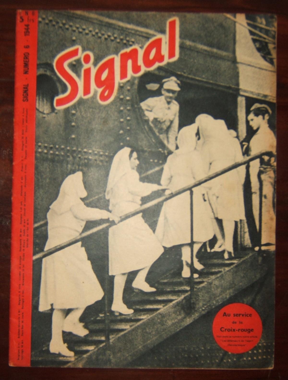 Signal' Deutsches Propaganda Magazin, II. Weltkrieg, französische Ausgabe, April-Mai 1944