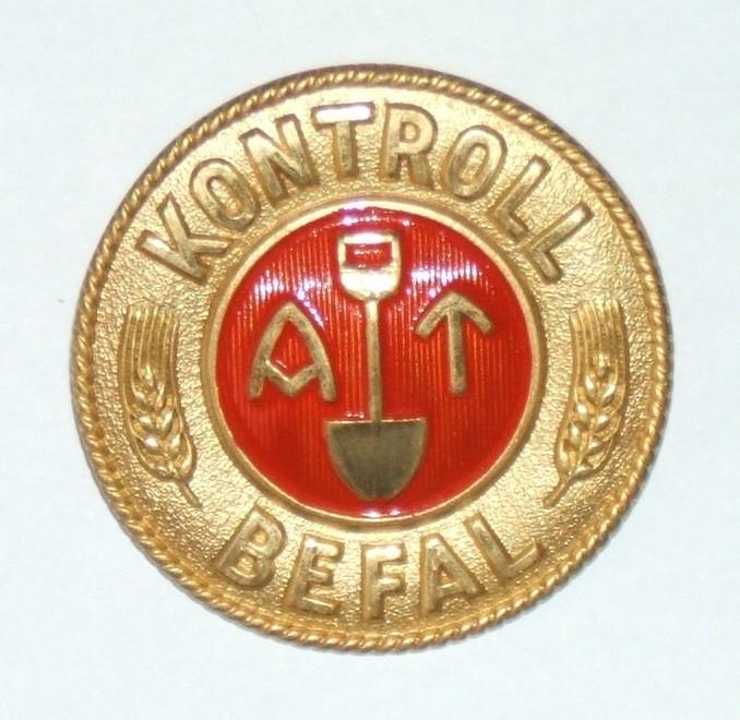 Norwegian 'Control Service' badge of Quisling's Labour Service