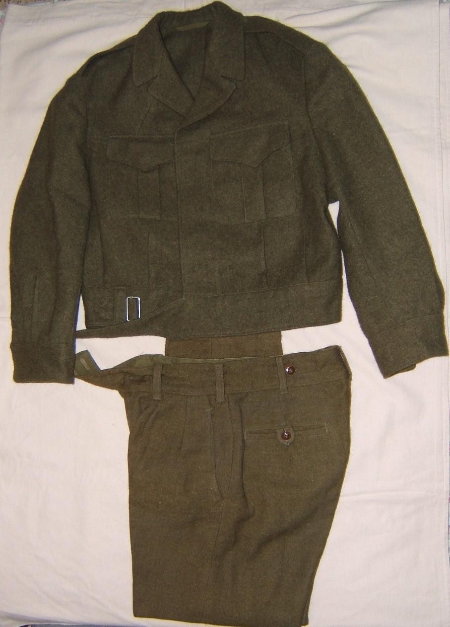 IDF set of winter/dress tunic and pants, 1961-62