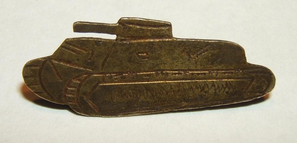 Seltener IDF Panzer Korps Kittel-Stift, Hersteller gekennzeichnet, ca. 1948-1950