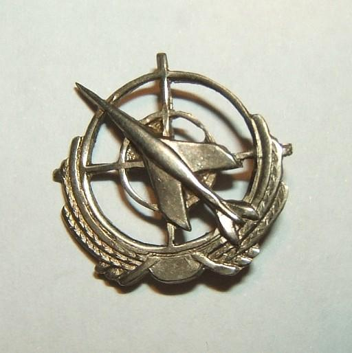 IAF tunic pin of 117th 1st Jet Squadron, c.1950s-60s