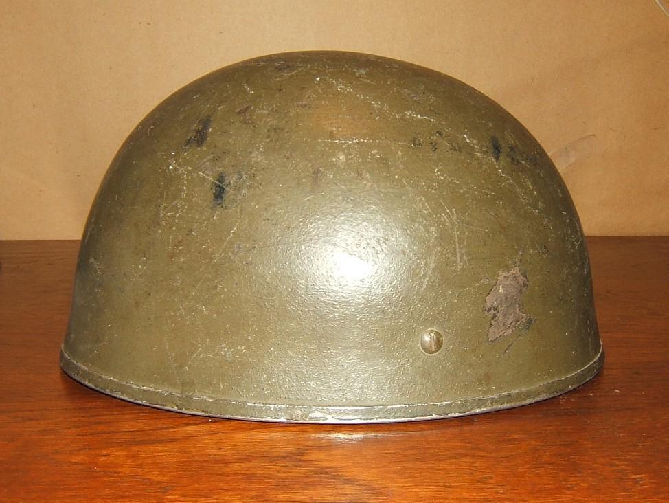 Britischer Fallschirmjäger Typ-3 1944, BMB-gemachter Helm, verwendeter von IDF, 1948-50er