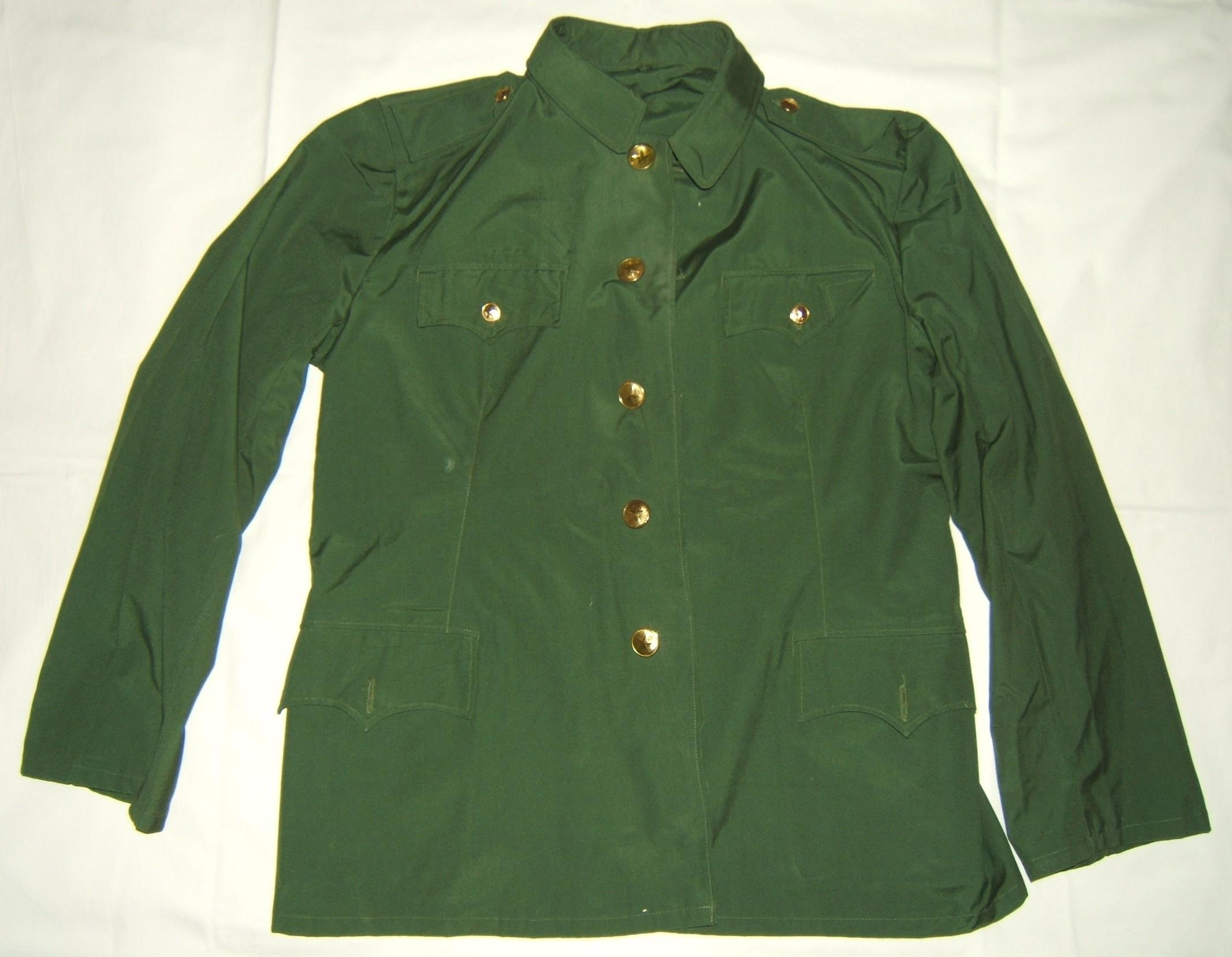 Chinese 'Peoples Liberation Army' tunic, 1987