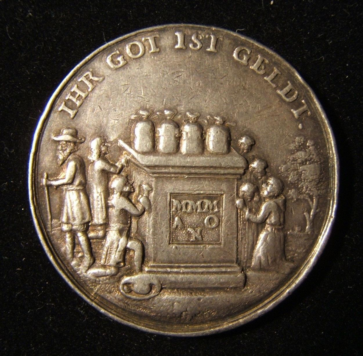 Germany: morality satirical medal