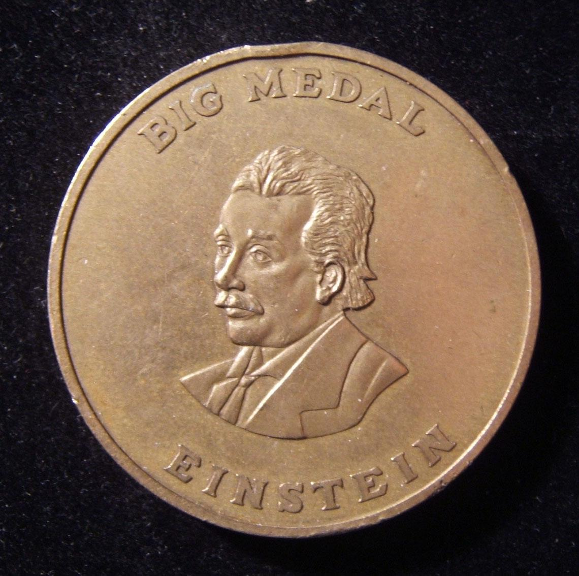 US: Int. Academy Sciences, Education, Industry & Arts 'Einstein' medal