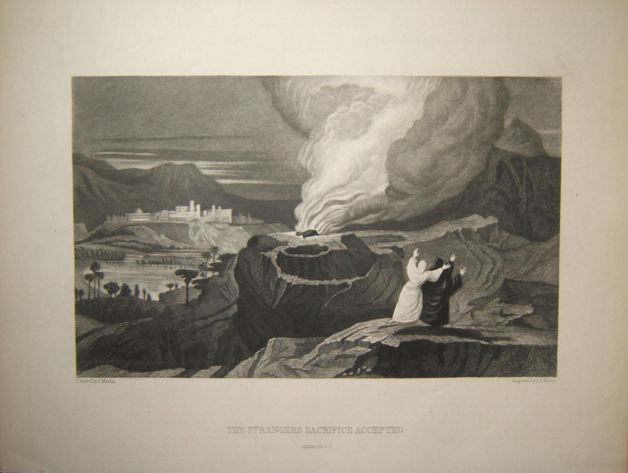 דפוס מקראי הקורבן הזר התקבל; מרטין וולטר, המאה ה -19