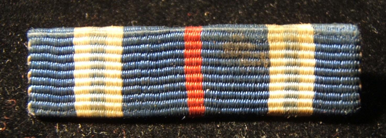 Israeli War of Independence campaign ribbon, with safety-pin back