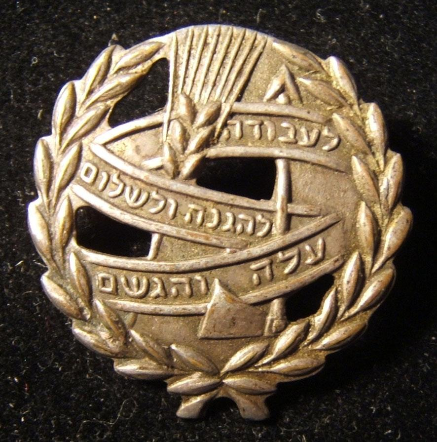 Lot 10x pins & badges of the Israeli Working & Learning Youth movement