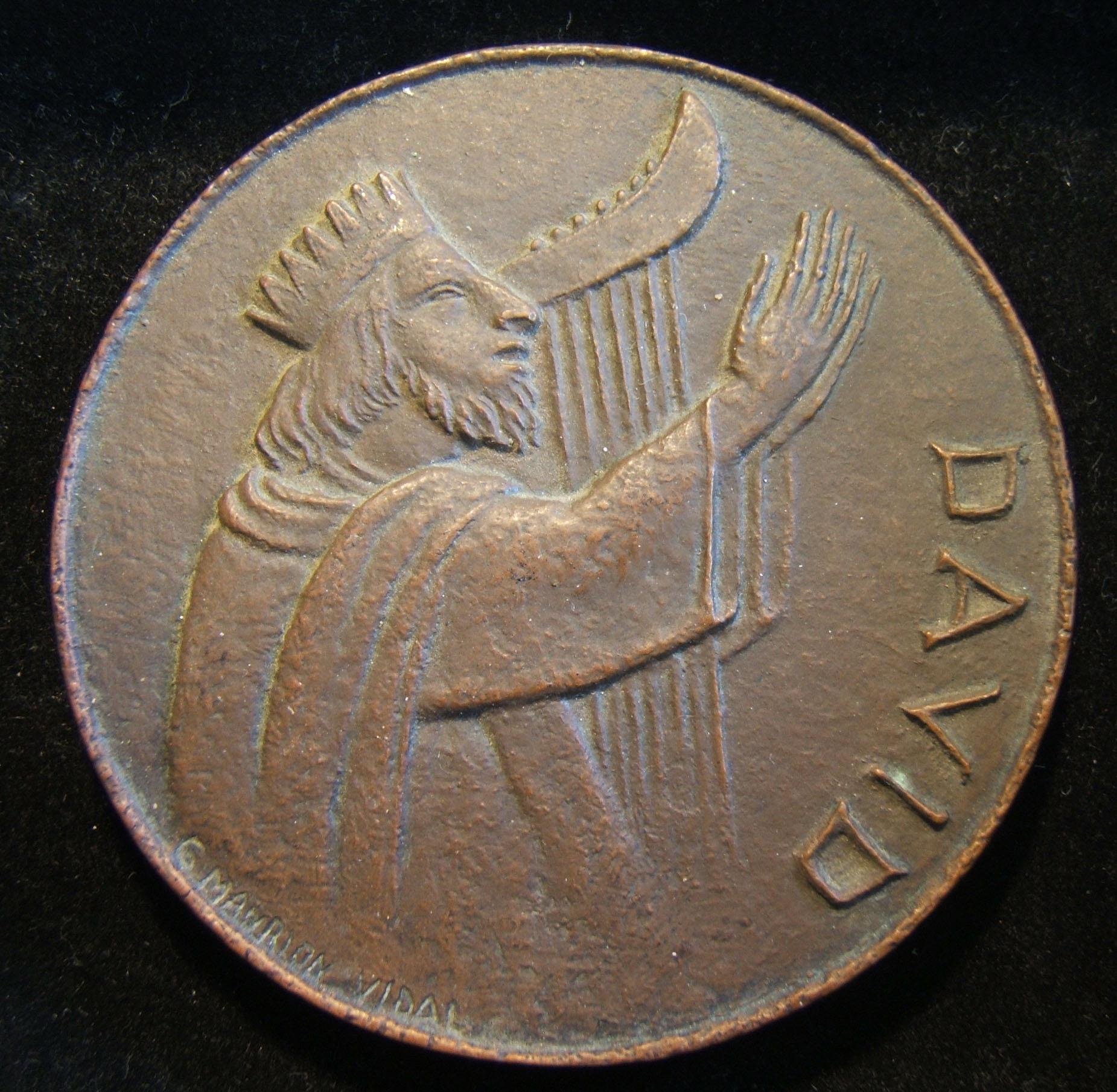France: cast medal of
