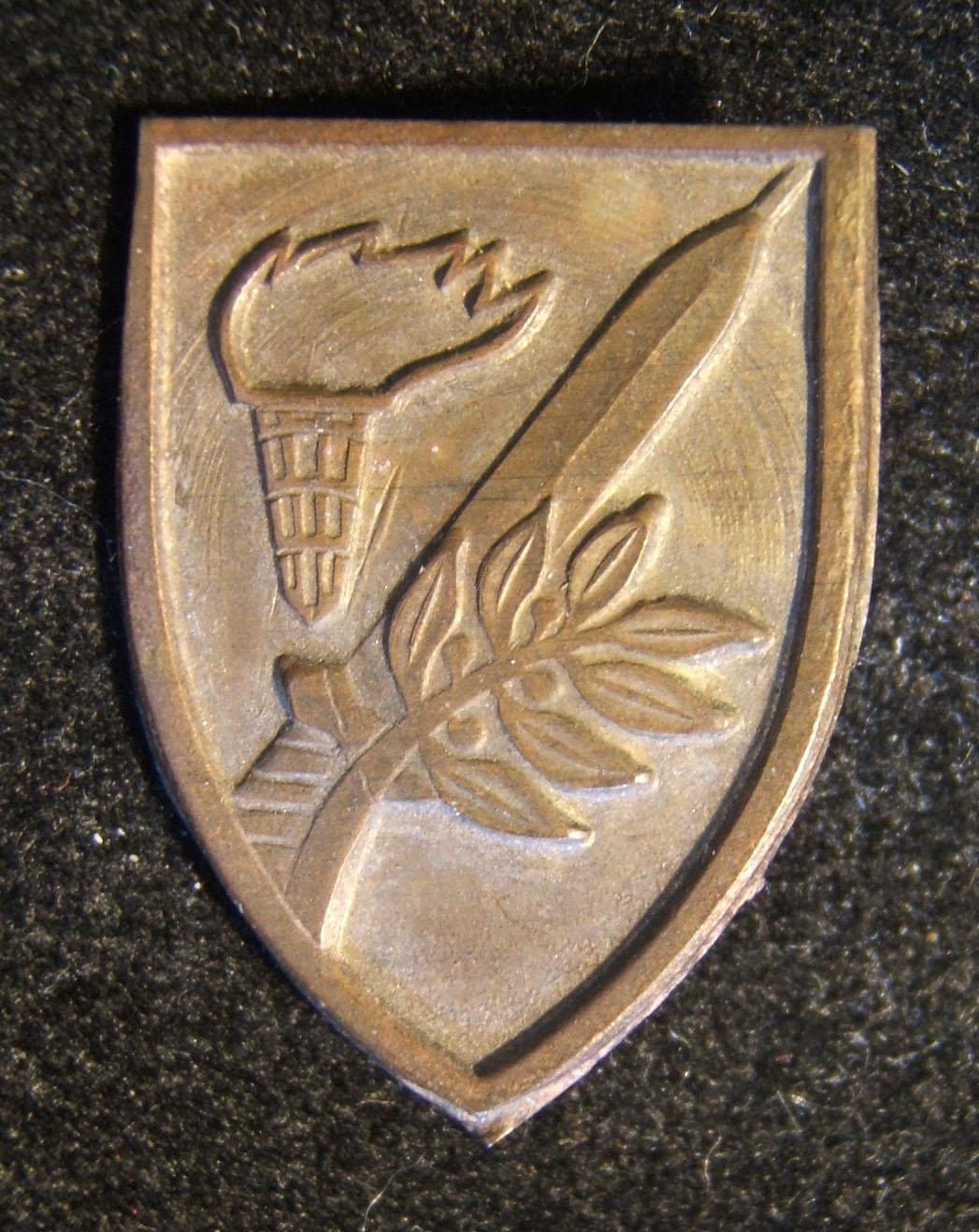 Tunic pin of the IDF's