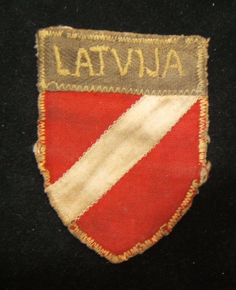 מלחמת העולם השנייה לטביה הלגיון M1943 Schutzmannschaft Latvija צבא תיקון
