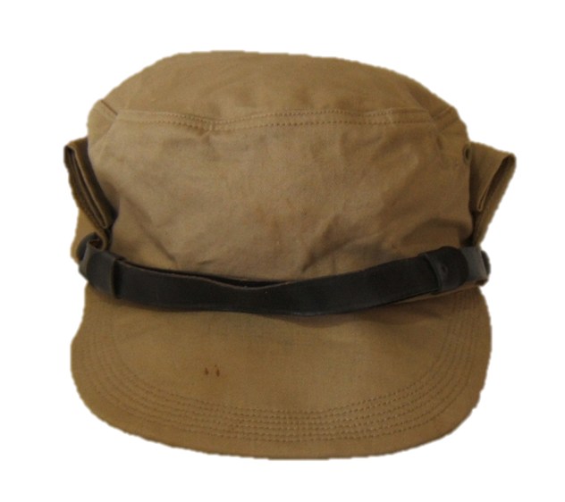 Early Israeli Army Hitelmacher hat with chin-cord, c. 1948-1951
