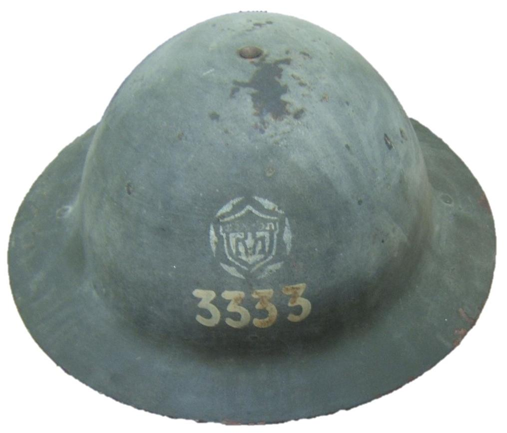 Palestine/Yishuv: helmet of TLV