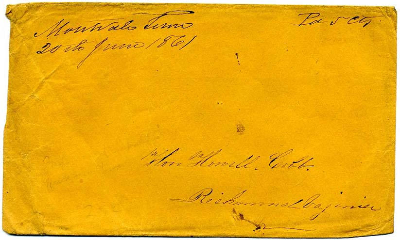 20 يونيو 1861 مؤقت مستقل / الكونفدرالية شرق تينيسي الحرب الأهلية
