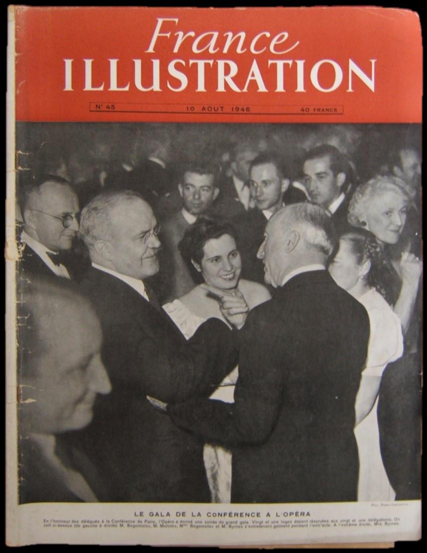 צרפת לאחר המלחמה מתמודדת עם וייטנאם, משפטים במלחמת העולם השנייה וארץ ישראל, במגזין 1946