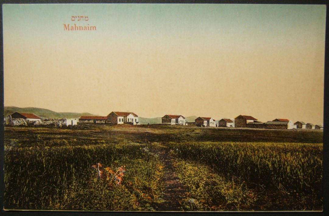 خمر، 1920s، Eretz، إسرائيل، لون، رمز، البطاقة للبريد، Mahnaim، Moshe، Ordmann، Tel Aviv