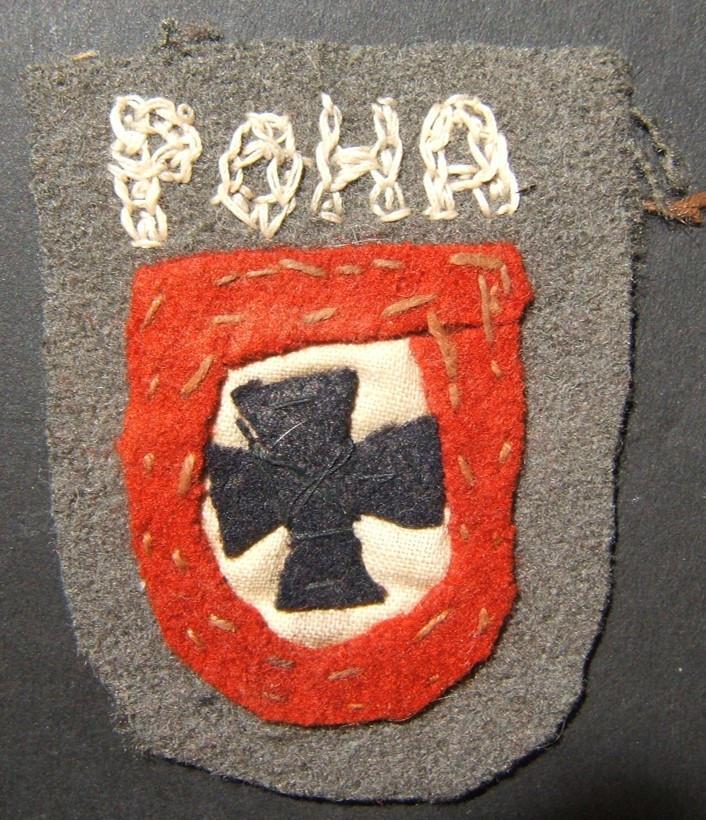 التصحيح العسكرية اليدوية من الحرب العالمية الثانية التعاون RONA الروسي Kaminski لواء