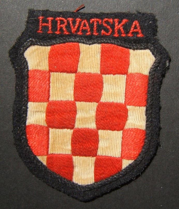 التصحيح العسكري للمتطوعين الكرواتيين في الحرب العالمية الثانية في Waffen-SS