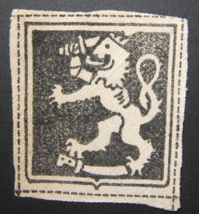 Military patch of WWII Finnish volunteers in German military/Waffen-SS 1941-43