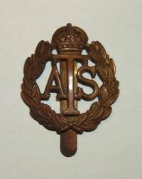 0010003 a-british-army-ats-auxiliary-territorial-service-hat-badge