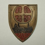 Rally badge for Norwegian 'Nasjonal Samling' party, 1-2 Nov. 1941
