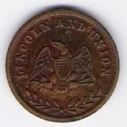 US: Civil War token, 1864, EF-45