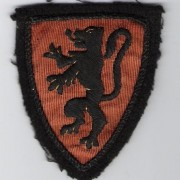 Flemish/Belgian armshield patch for Flemish Volunteer Legion