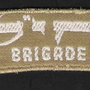 Jewish Brigade shoulder badge, 1944-45