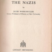Book: 'Norway Revolts Against the Nazis' by Jacob Worm-Muller, 1941