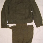 IDF set of winter/dress tunic and pants, 1961-62