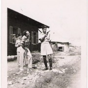 Photo of Jewish Settlement Police in Mandatory Palestine, 1947