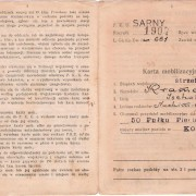 Lot x3 Polish military documents of Jewish citizen, 1934-45