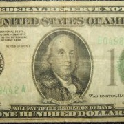 United States: $100 banknote, 1934 A; F-VF
