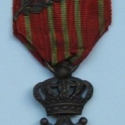 Belgian World War I 'Croix de Guerre' (War Cross) 1914-1918
