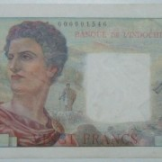 French Tahiti/Papeete 20 Francs banknote ND (1954-1958), EF-AU