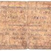Philippinen: Capiz Aklan Notfall-Banknote Uniface in 1-Peso, 1942; SGE-S