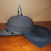 Jordanian Army British-made spike helmet, circa 1950-60's
