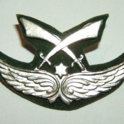 Druze Battalion tunic emblem ('Gdud Herev') of Israeli Army