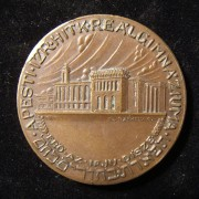 Hungary: Pest Jewish Community High School sports medal, c. 1920s