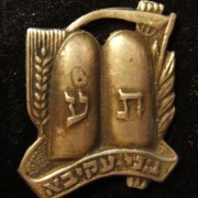 Israel: 'Bnei Akiva' religious-Zionist youth movement badge