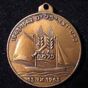 Palmach 'Palyam' veterans assembly commemoration token, 1963