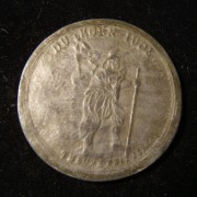 Germany: 'Corn Jew'/Hanging Jew medal, 1694-1695, variant in lead