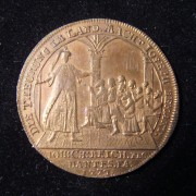 Germany: Joseph & His Brothers inflationary copper jeton, 1772 (Brett-1936)