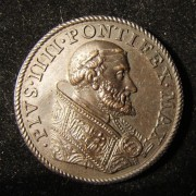 Italy Pope Pius IV bronze medal; by Federigo Parmensis but not marked; 29.5mm, 14.55g. Obv.: Jesus driving out merchants from the Great Temple & Latin leg.