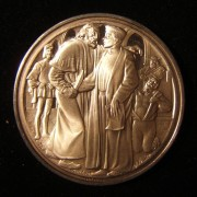 Great Britain: 'Merchant of Venice' silver medal by R.S.C.