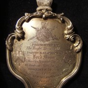 Great Britain: Lord Mayor of London David Salomons & Sheriffs silver medal, 1855